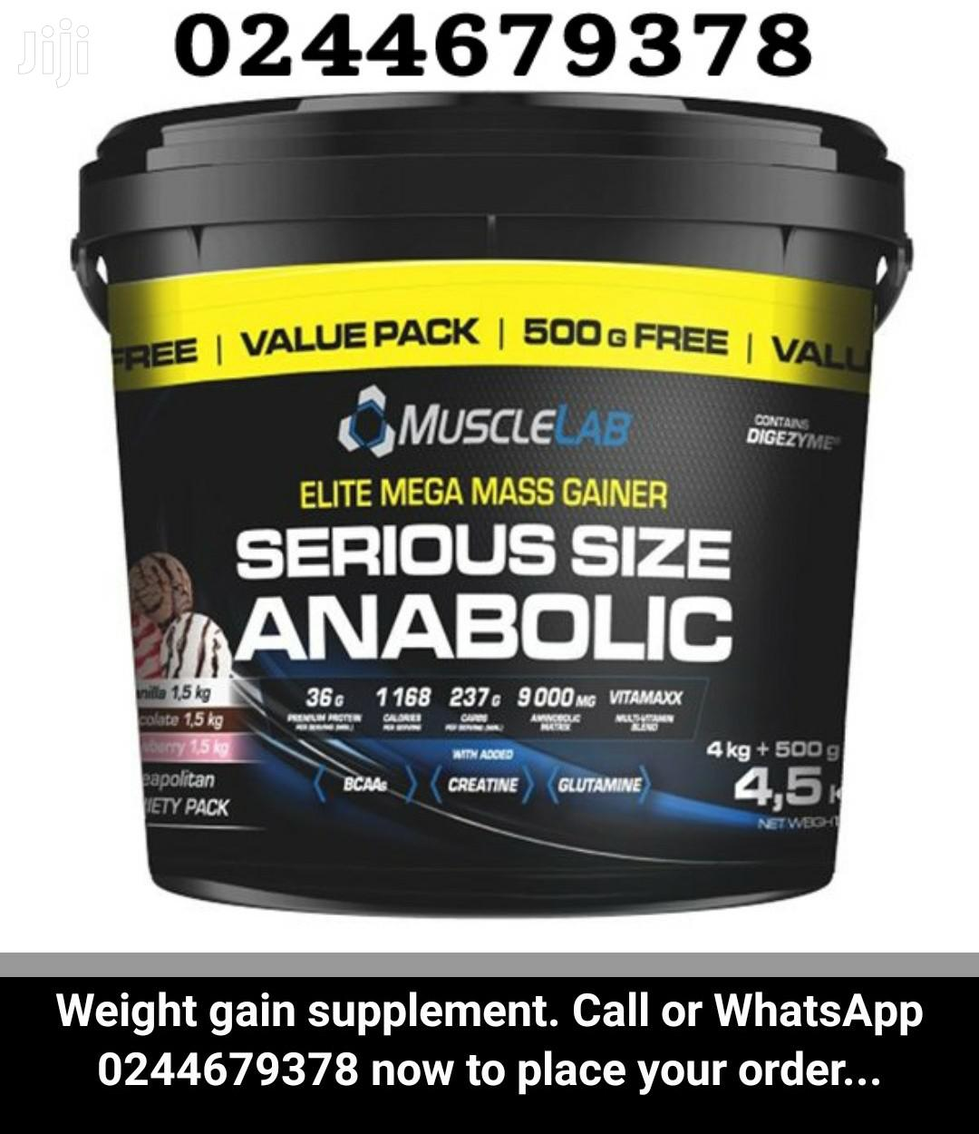 Weight Gain | Vitamins & Supplements for sale in East Legon, Greater Accra, Ghana