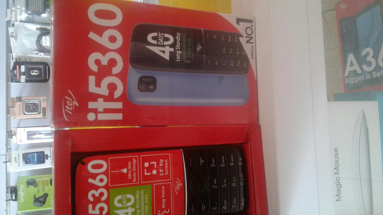 Archive: New Itel it5320 Gold