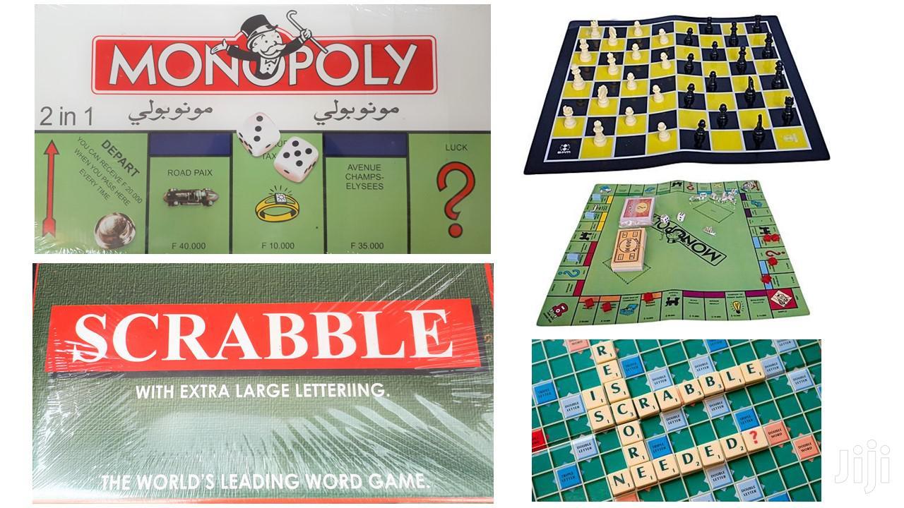 Monopoly + Scrabble + Chess