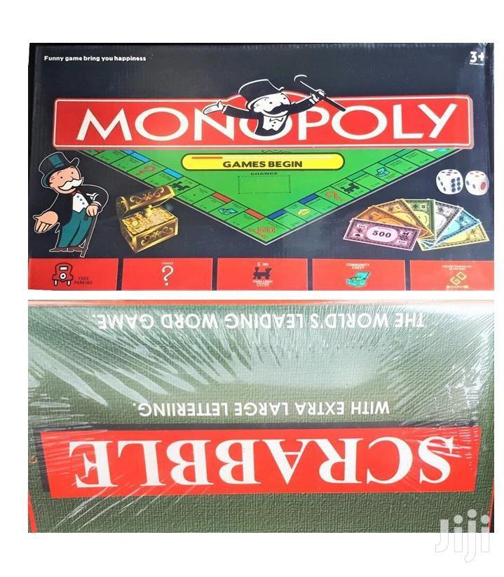 Monopoly + Scrabble