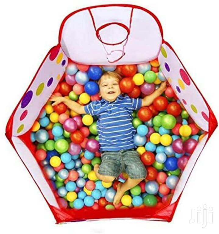 Kids Play Tent With Ball