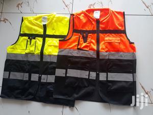 Heavy Duty Reflective Vest With Pockets