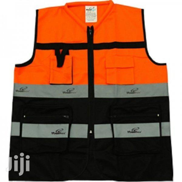 Heavy Duty Reflective Vest With Pockets | Safety Equipment for sale in East Legon, Greater Accra, Ghana