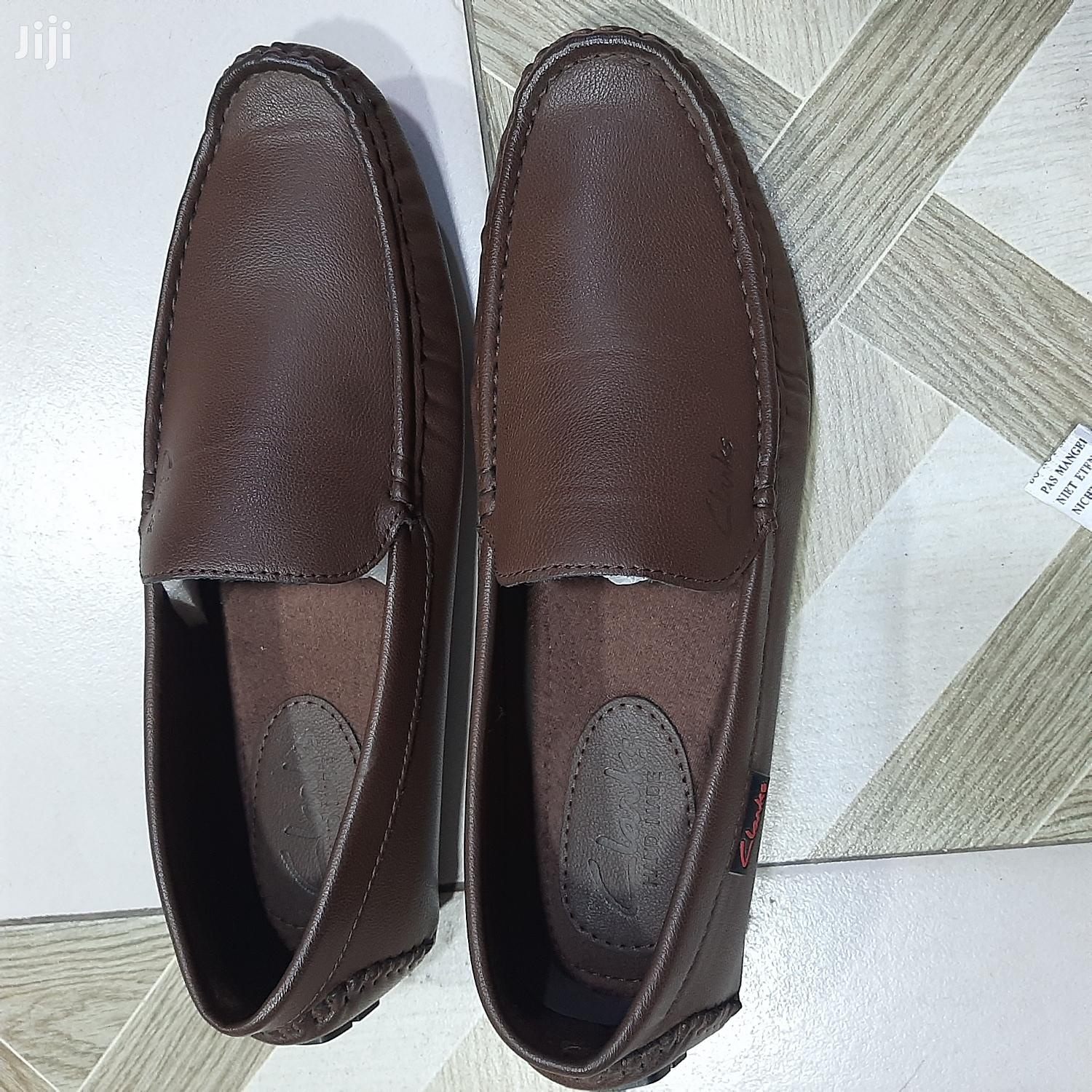 Archive: Clarks Brown Leather Loafers