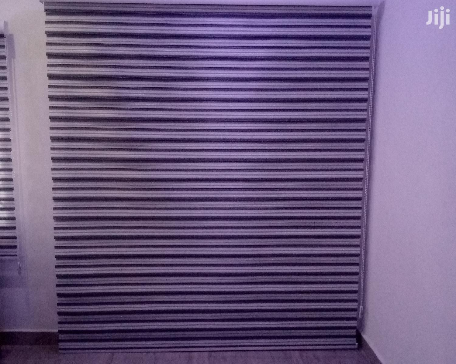 Black and White Stripes Zebra Blinds | Home Accessories for sale in Accra Metropolitan, Greater Accra, Ghana