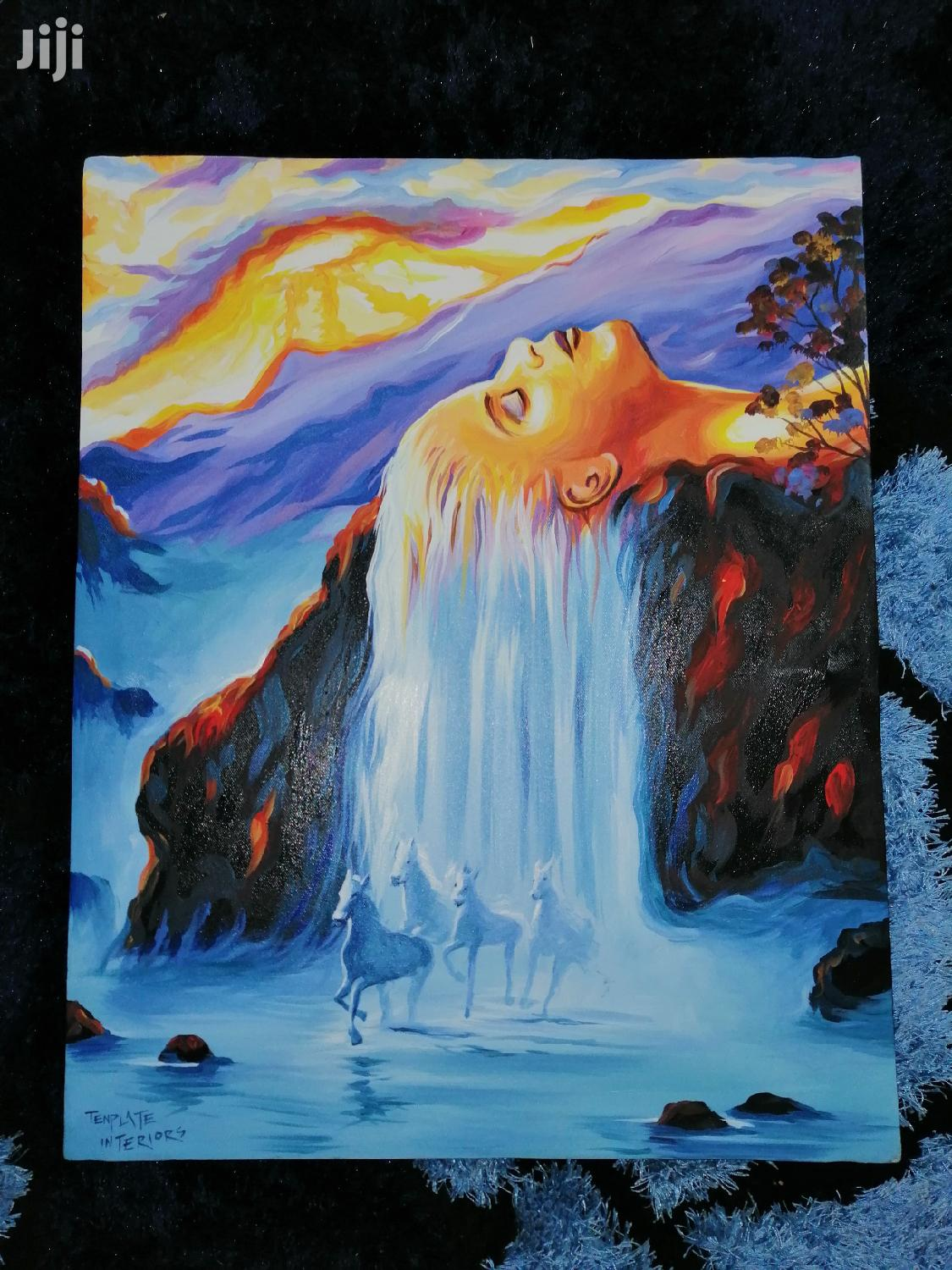 Relaxation Art Painting
