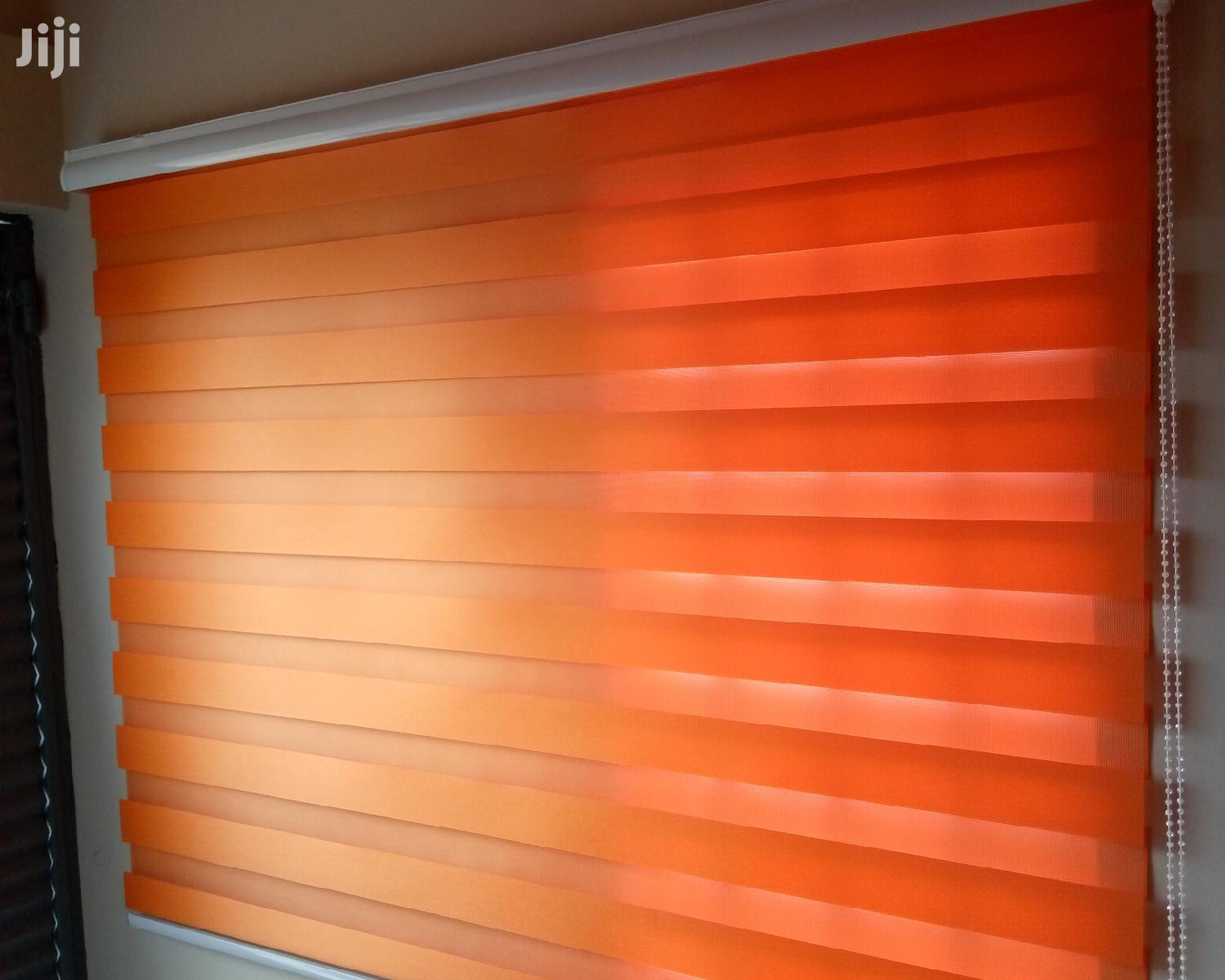 Orange Blinds With Free Installation