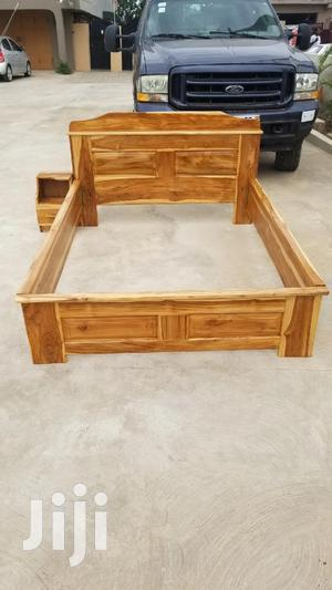 QUALITY DOUBLE Bed(Made of Thick Wood)