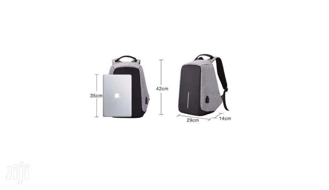 Anti-theft Waterproof Multi-functional Backpack - Black   Bags for sale in Tema Metropolitan, Greater Accra, Ghana