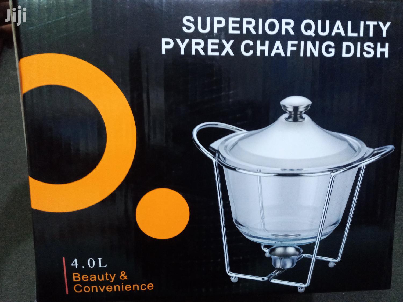 Pyrex Chafing Dish