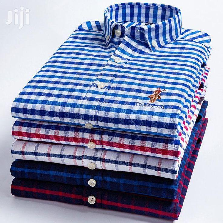 Checkered Long Sleeve Shirts - 5 Pieces - Multicolour