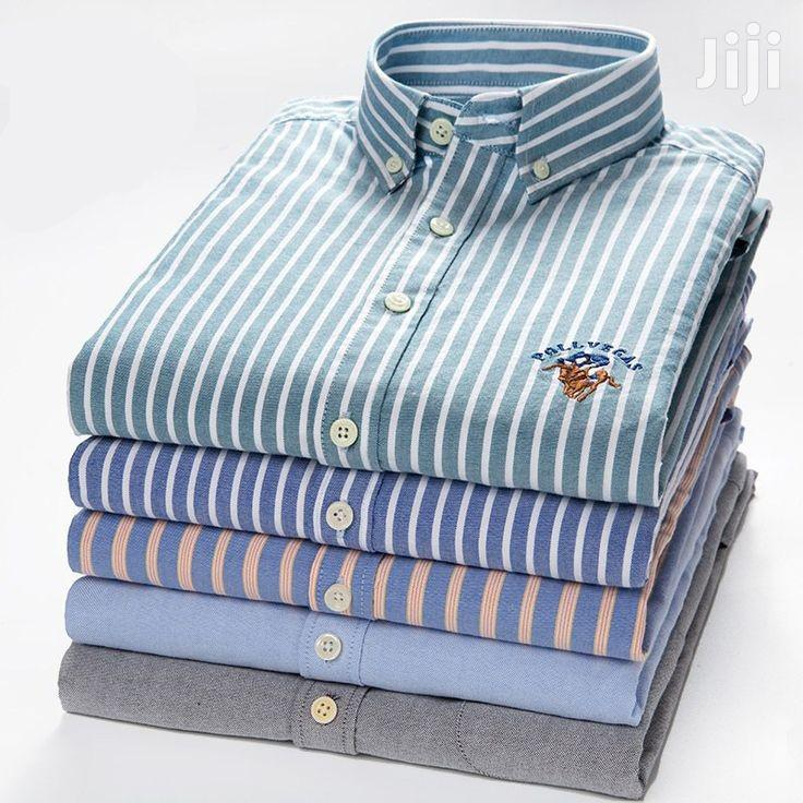 Checkered Long Sleeve Shirts - 5 Pieces - Multicolour   Clothing for sale in Ledzokuku-Krowor, Greater Accra, Ghana