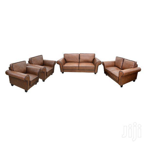 Sofa Set Leatherite (3+3+1+1)