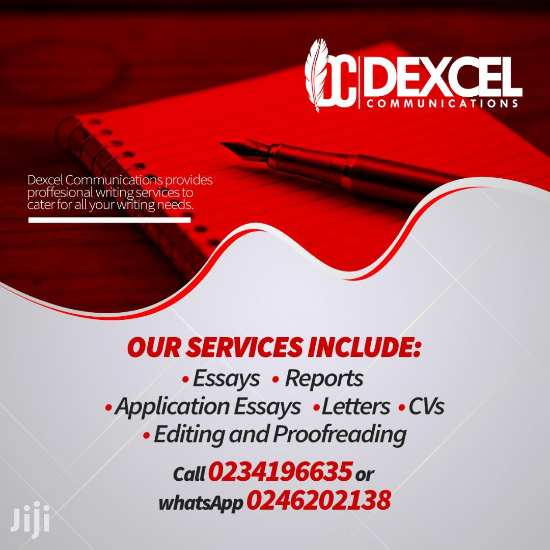 Writing and Editorial Services | Other Services for sale in Ga West Municipal, Greater Accra, Ghana