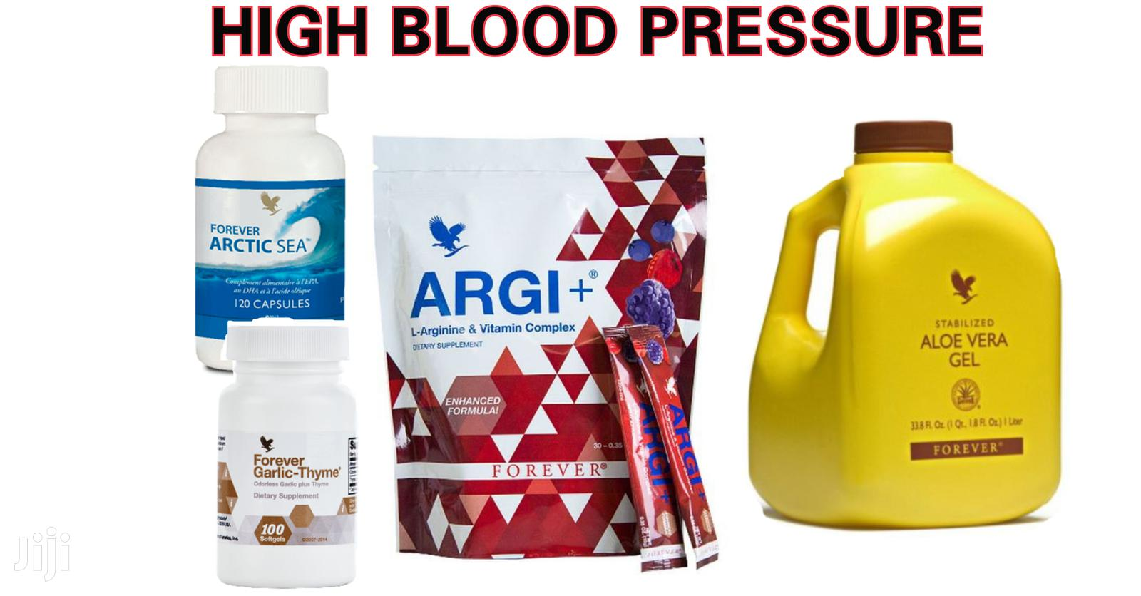 Natural Supplements to Normalize High Blood Pressure