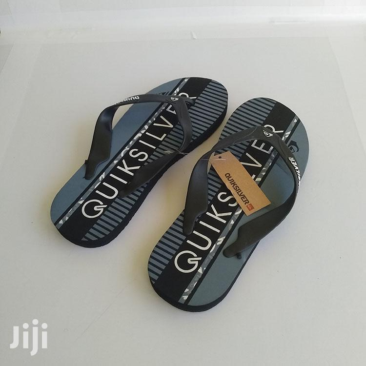Quiksilver Black/Ash Flip Flop Slippers   Shoes for sale in Ashaiman Municipal, Greater Accra, Ghana