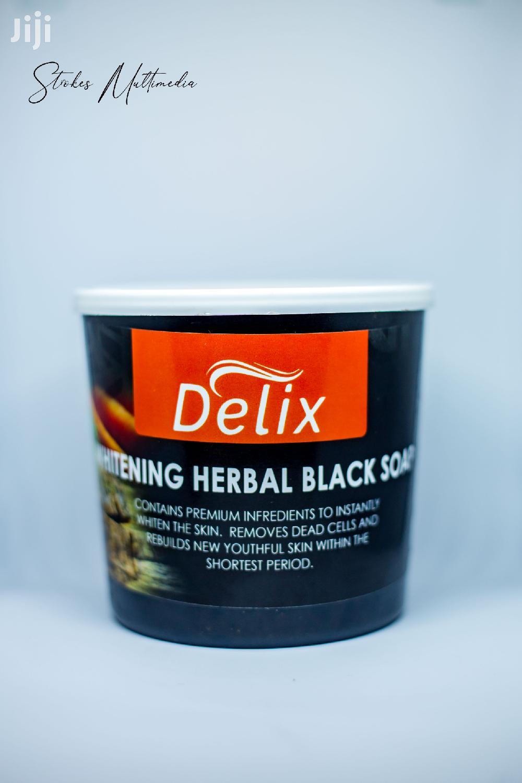 Archive: Delix Organic Herbal Whitening Black Soap