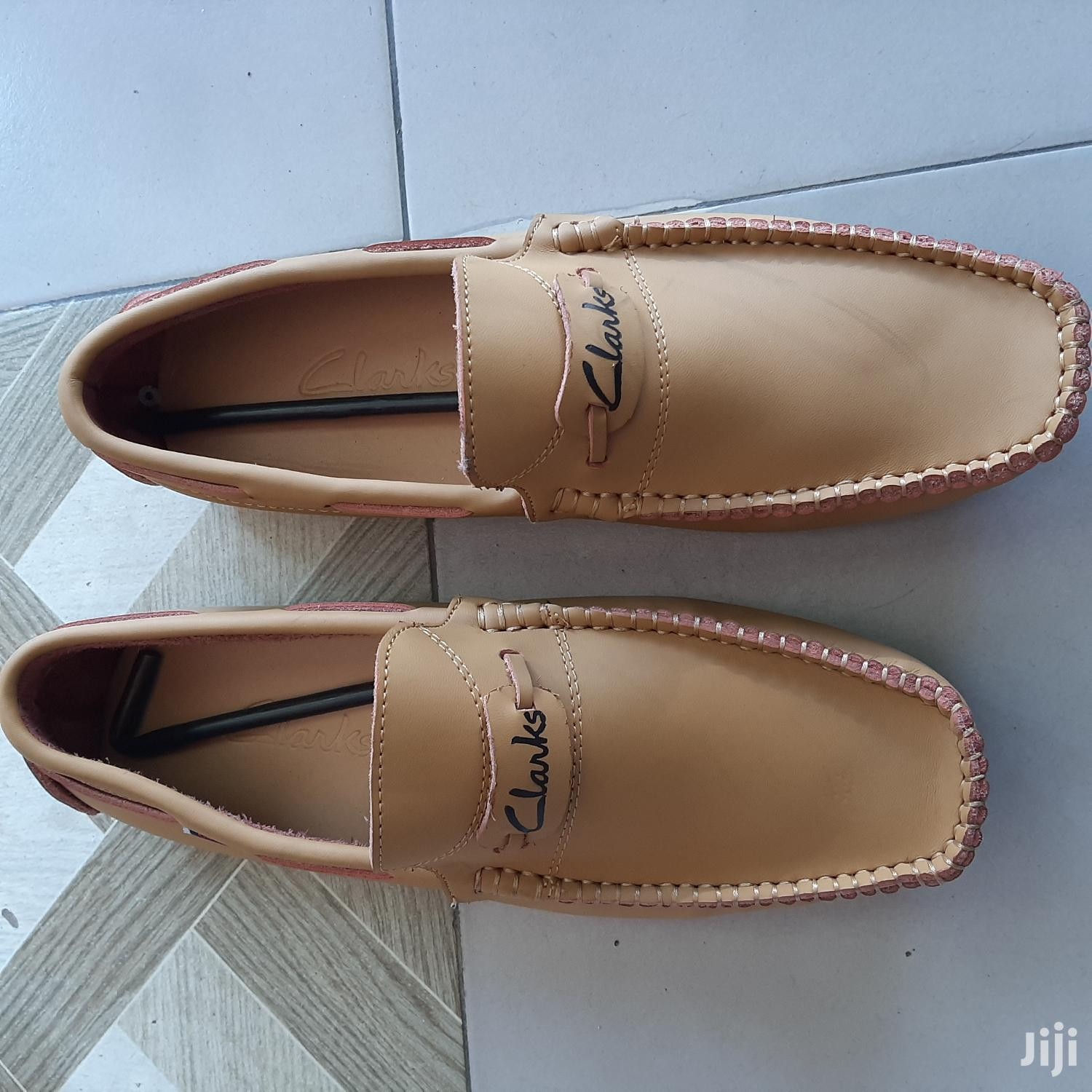 Clarks Loafers-Brown-Sz 43 | Shoes for sale in Ga East Municipal, Greater Accra, Ghana