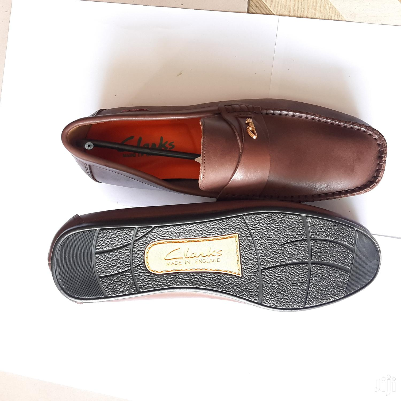 Original Clarks Loafers-brown
