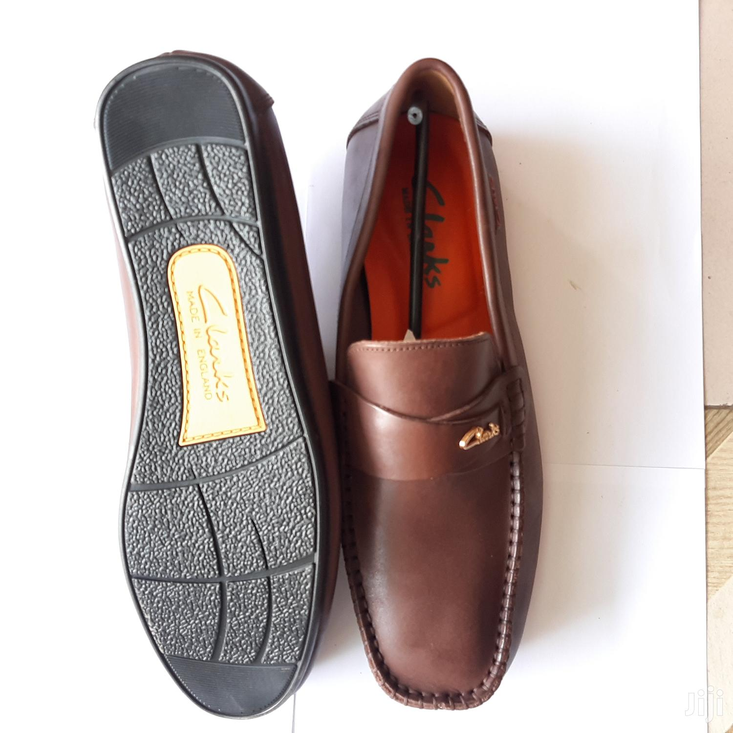 Original Clarks Loafers-brown | Shoes for sale in Ga East Municipal, Greater Accra, Ghana