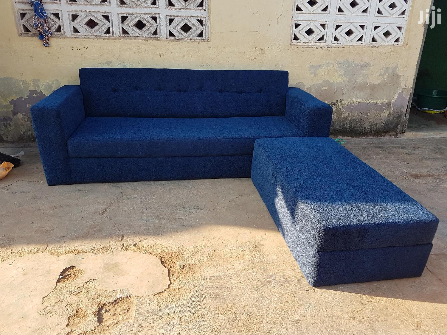 Brand New Sofa Couch Blue Colour | Furniture for sale in Tamale Municipal, Northern Region, Ghana