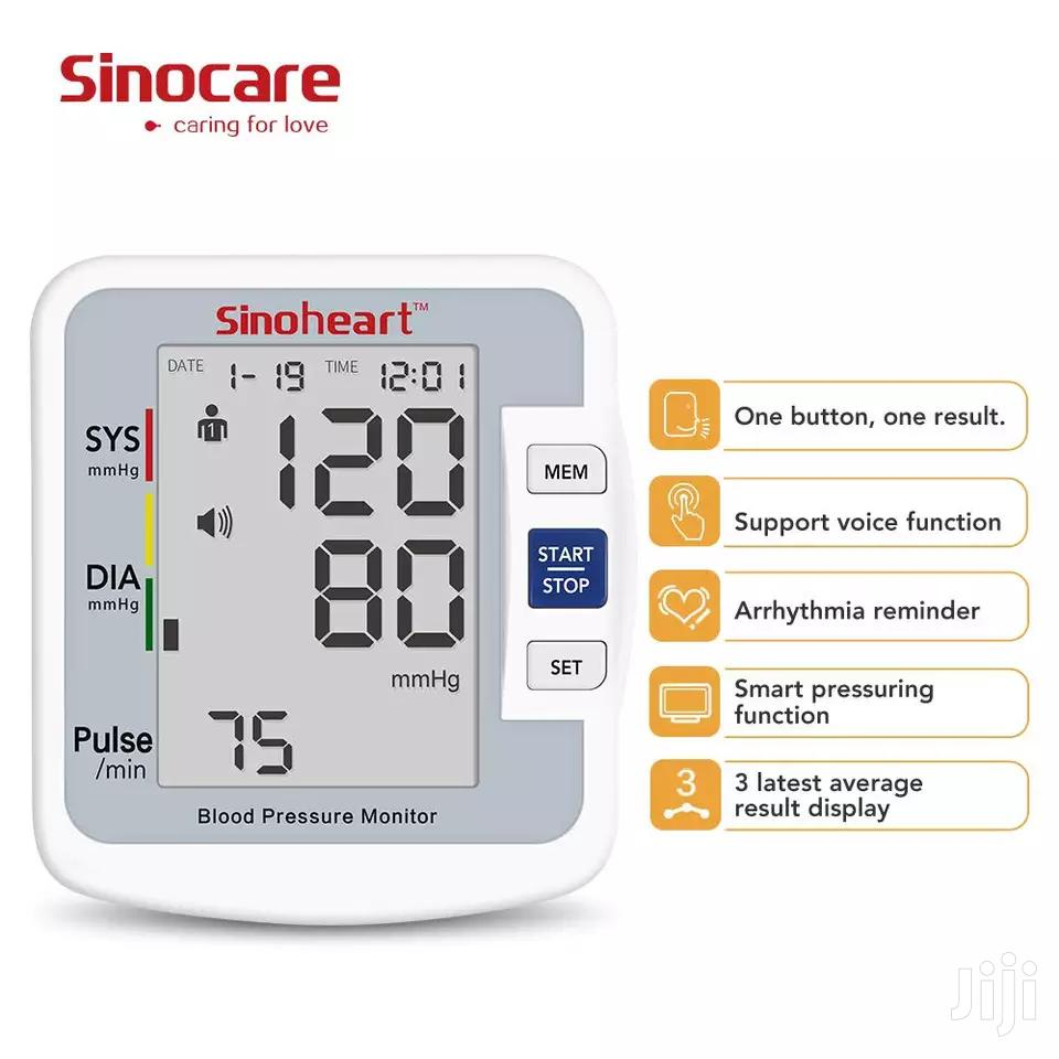 Archive: Sinocare Blood Pressure (BP) Monitor