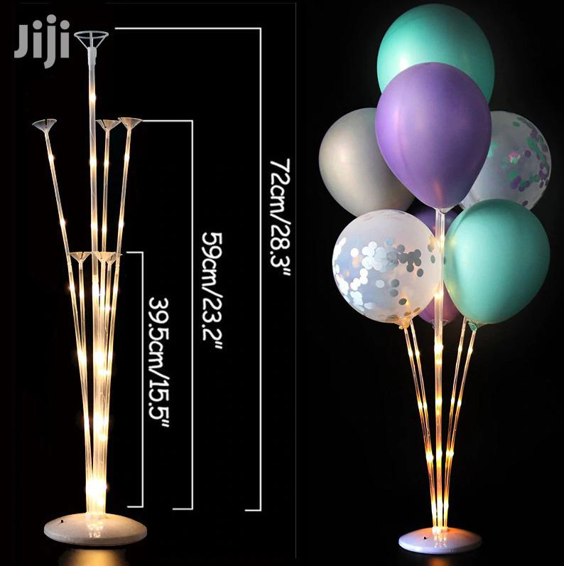 Rubber Birthday Party Decorative Balloon With Stand