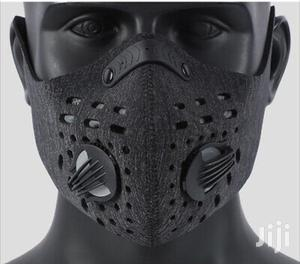 Facemask Air Pollution Filter Grey New Strap