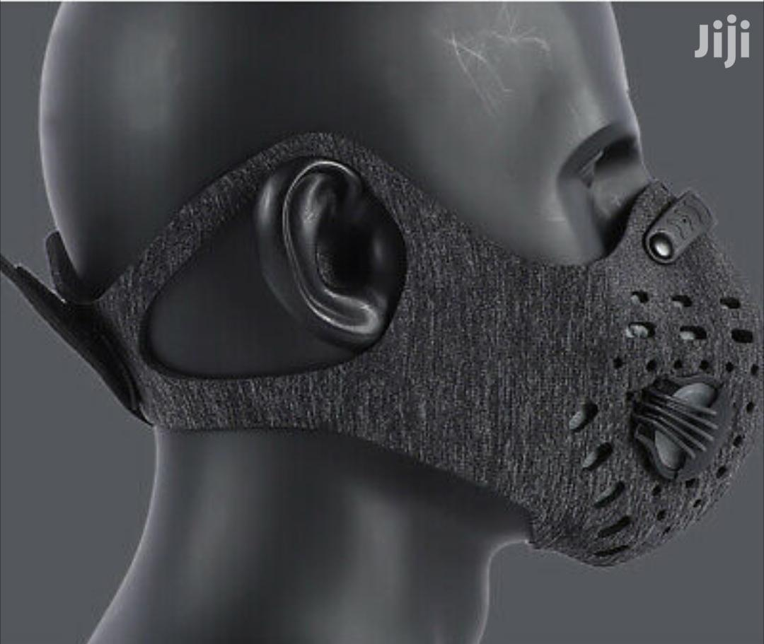 Facemask Air Pollution Filter Grey New Strap | Clothing Accessories for sale in Adenta Municipal, Greater Accra, Ghana