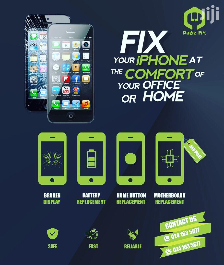 We Fix Your iPhone To Your Satisfaction