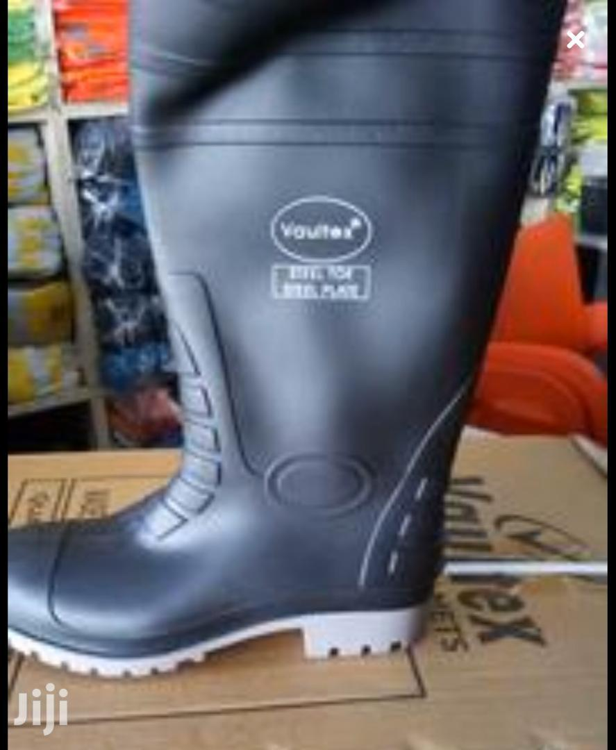 Steel-toed Gum Boot (Wellington Boot) | Safety Equipment for sale in Tema Metropolitan, Greater Accra, Ghana