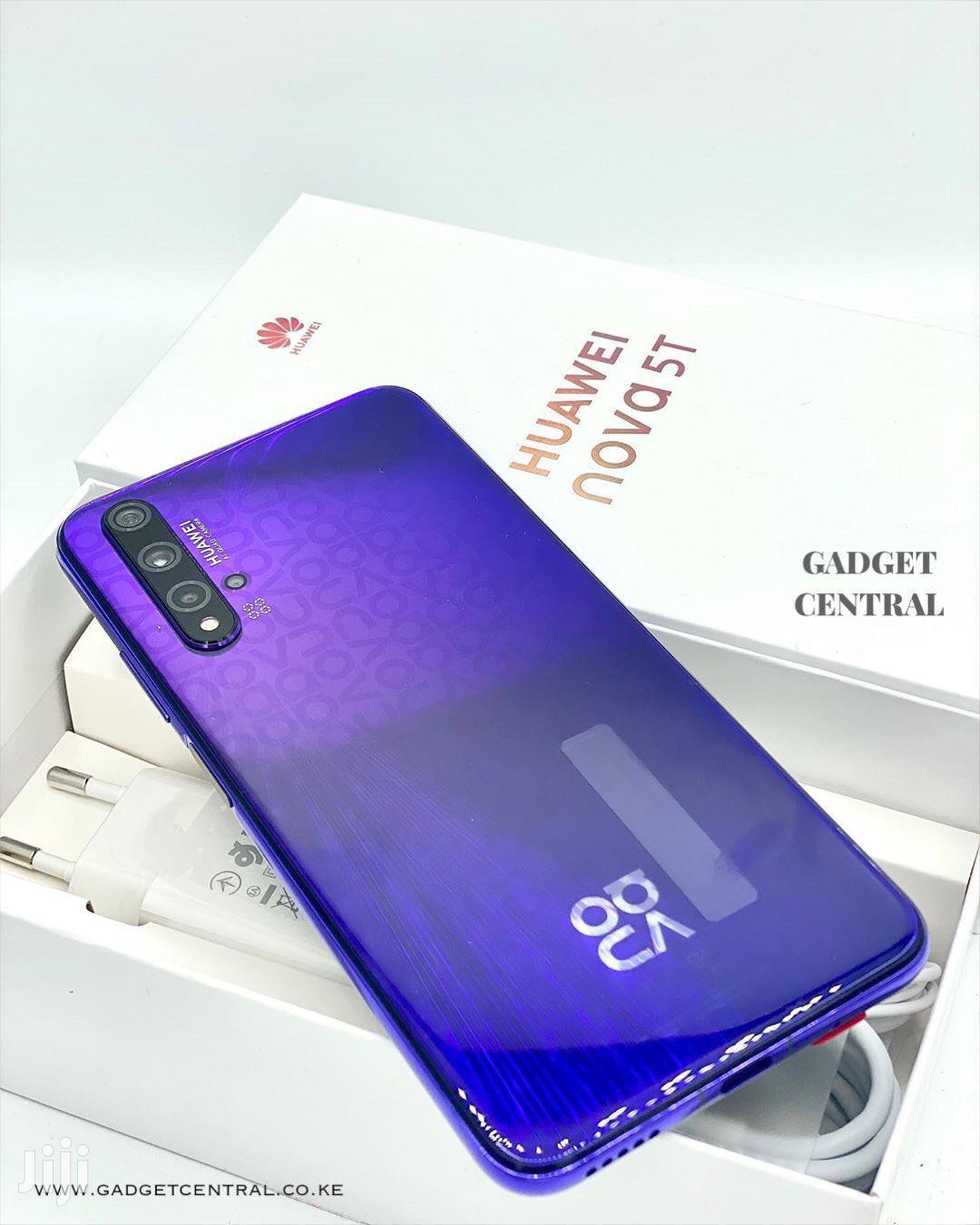 New Huawei Nova 5 128 GB Blue   Mobile Phones for sale in Kumasi Metropolitan, Ashanti, Ghana