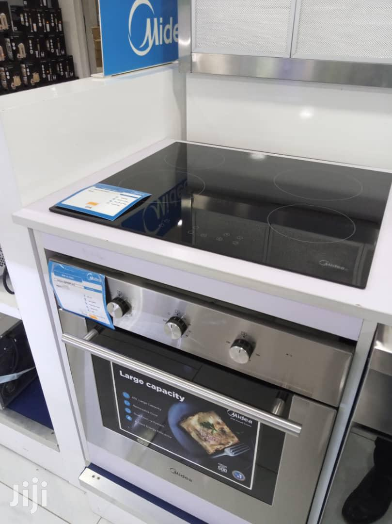 Midea Electric Plate 4 Burner With Oven