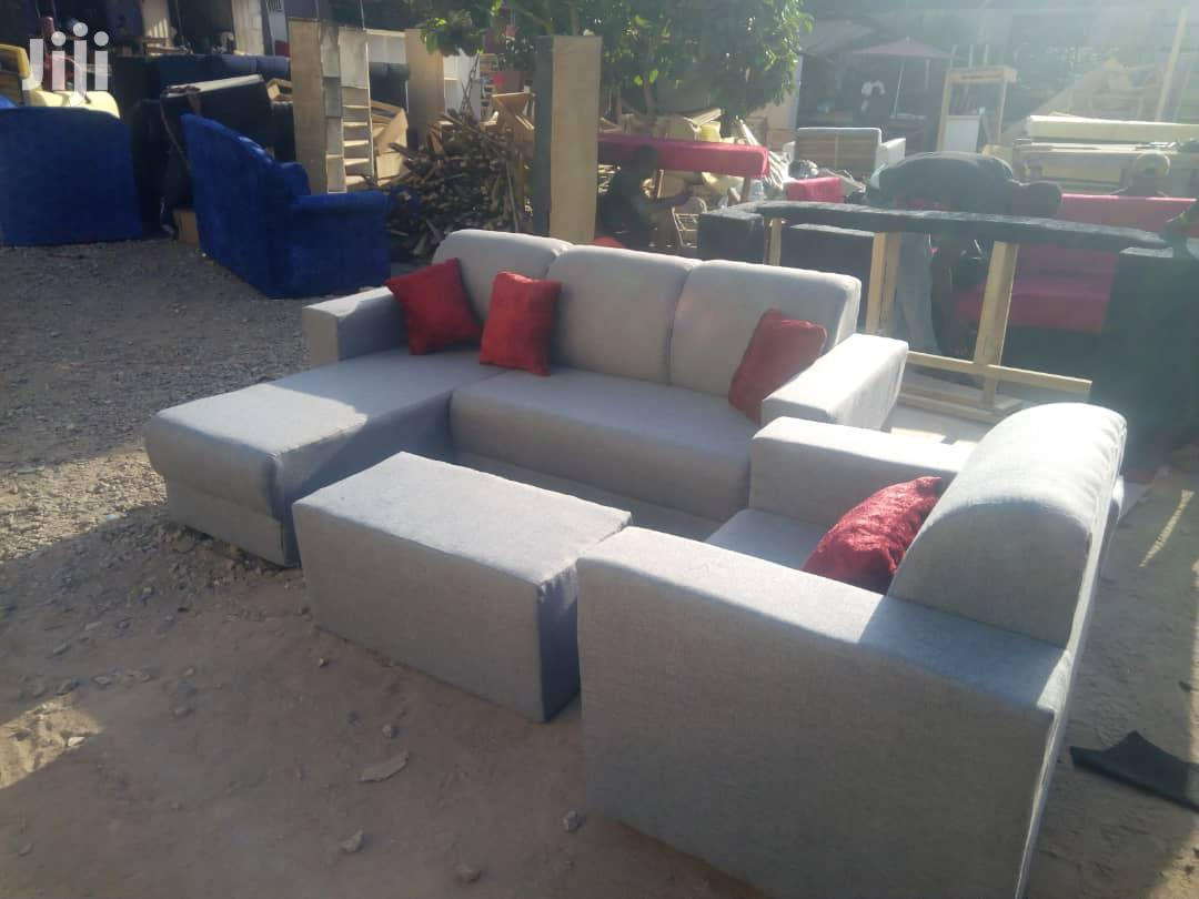 L Shape Sofa. | Furniture for sale in Kumasi Metropolitan, Ashanti, Ghana