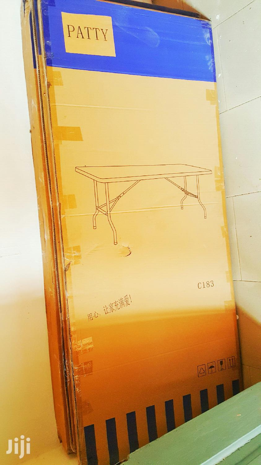 Original Plastic Chair And Foldable Tables   Furniture for sale in Teshie-Nungua Estates, Greater Accra, Ghana