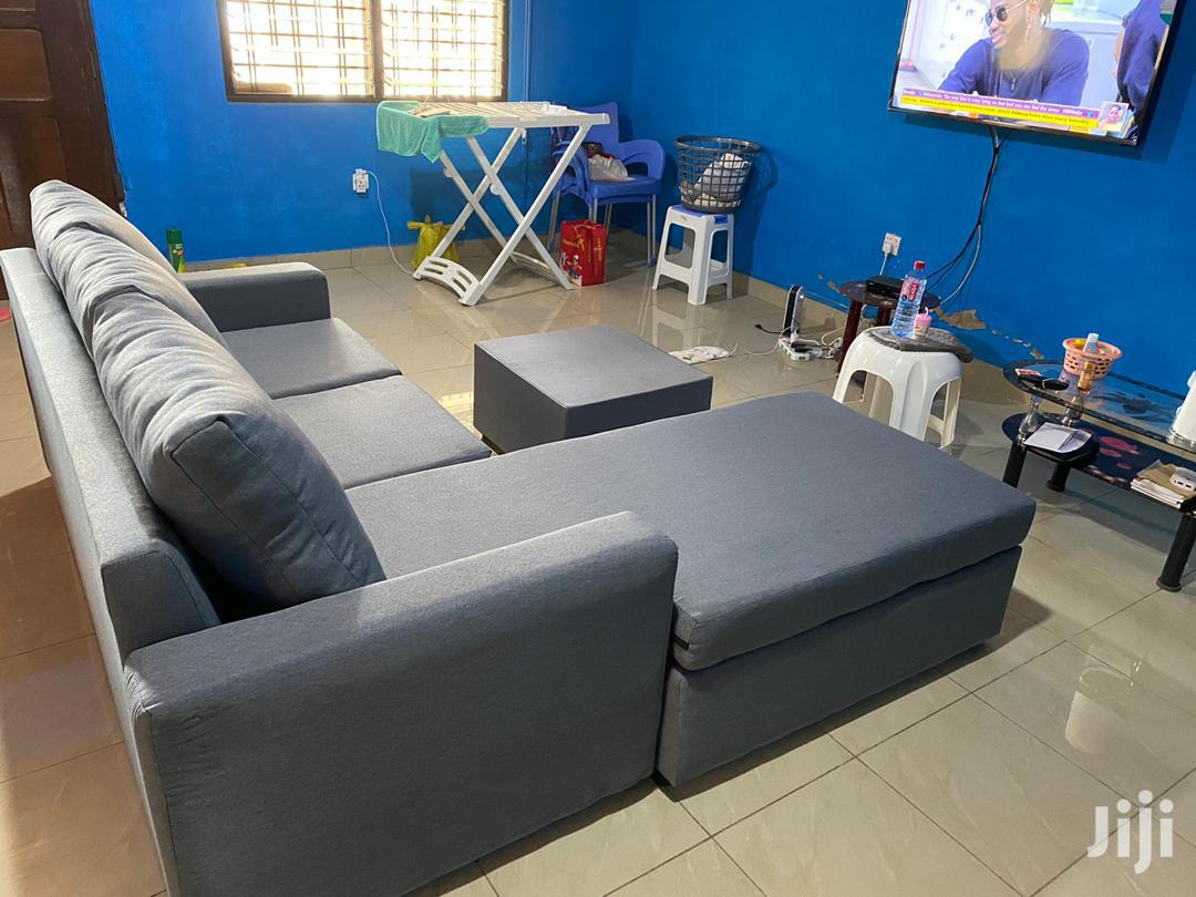 Quality L Shaped Sofa Chair.Promotion | Furniture for sale in Tema Metropolitan, Greater Accra, Ghana