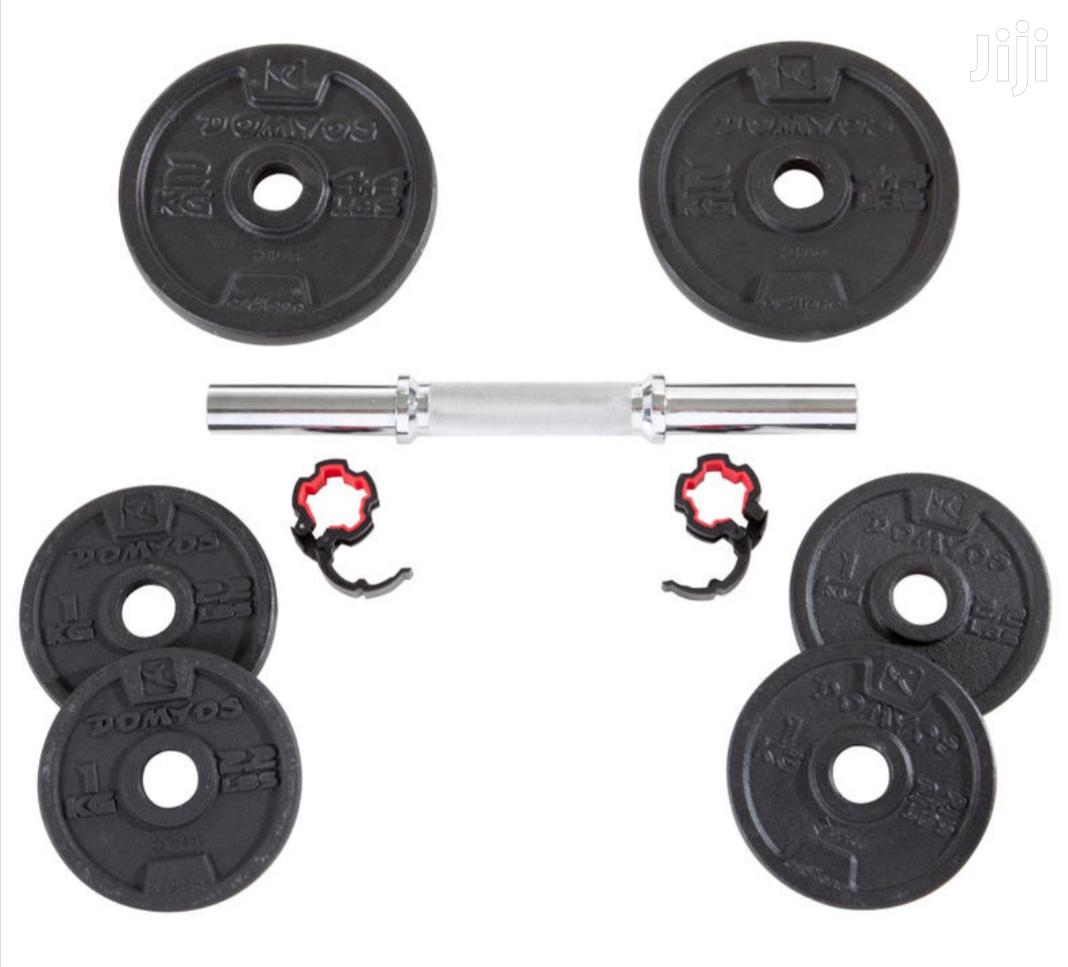 20kg Adjustable Dumbbell/Dumbells   Sports Equipment for sale in Teshie-Nungua Estates, Greater Accra, Ghana
