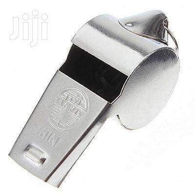 Whistle Abeg Sports Ref Chrome Horn