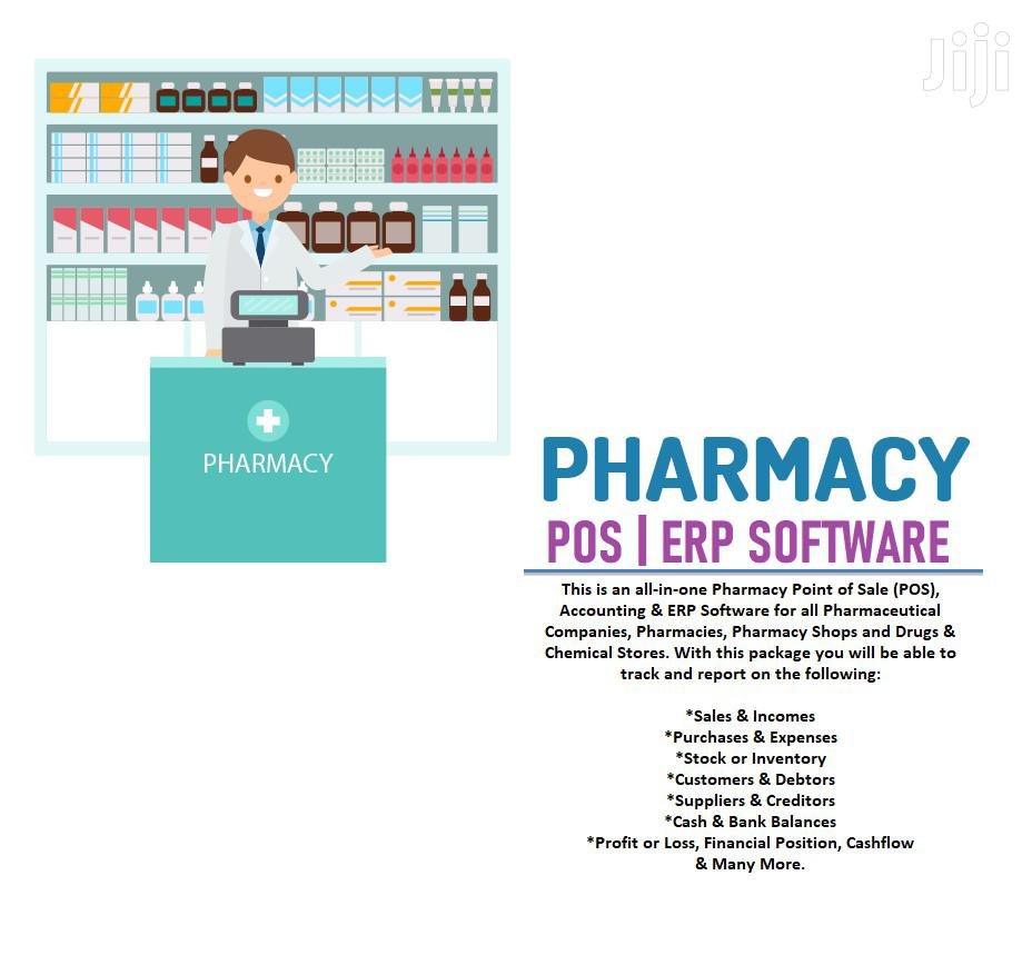 Pharmacy POS | Accounting | ERP Software / System