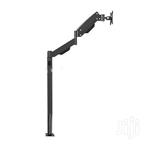 SINGLE ARM MONITOR BRACKET FOR 13' ~ 27'' COLOR: BLACK   Computer Monitors for sale in Bubuashie, Greater Accra, Ghana