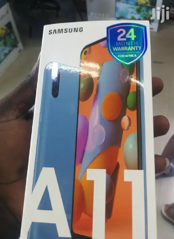 New Samsung Galaxy A11 32 GB Blue | Mobile Phones for sale in Roman Ridge, Greater Accra, Ghana