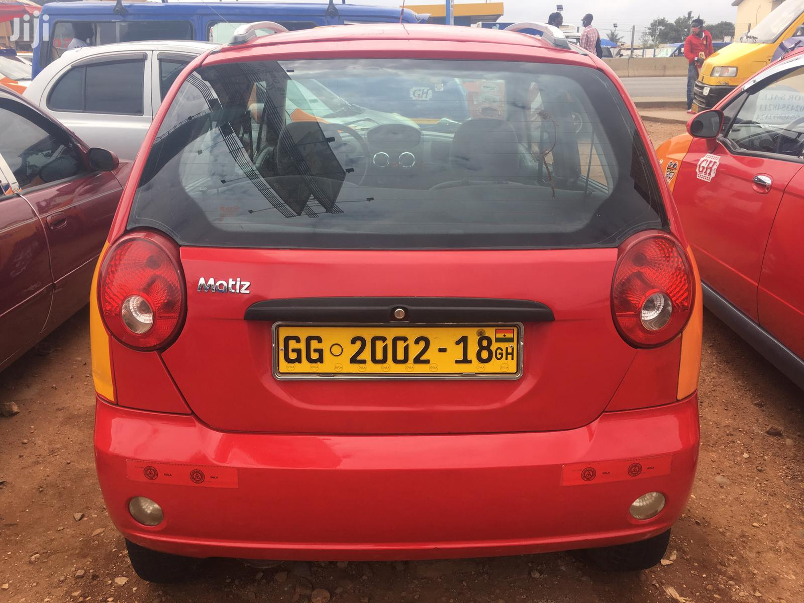 Daewoo Matiz 2015 Red | Cars for sale in Nii Boi Town, Greater Accra, Ghana