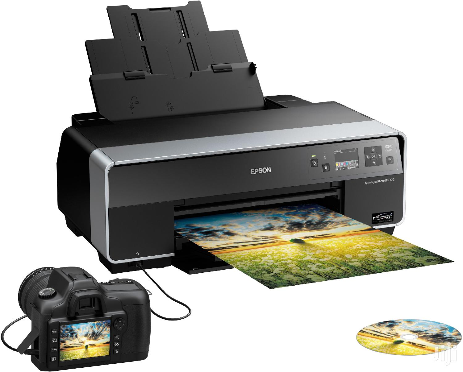 AA A0 EPSON Photo Graphic Design Printers With Ciss