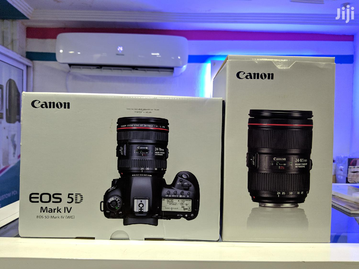 Canon EOS 5D Mark IV Full Frame Digital Ef24-105 Mm F/4F | Photo & Video Cameras for sale in Darkuman, Greater Accra, Ghana