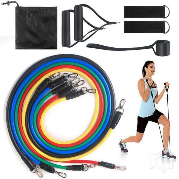 Resistance Band Set-11 Piece Set | Sports Equipment for sale in East Legon, Greater Accra, Ghana