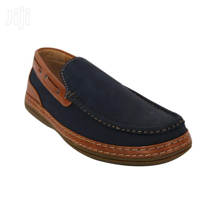 Loafers - Navy Blue/Black/Brown