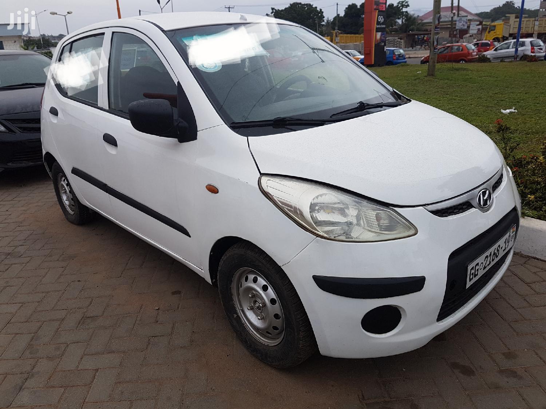 Hyundai i10 2009 White | Cars for sale in Ga East Municipal, Greater Accra, Ghana