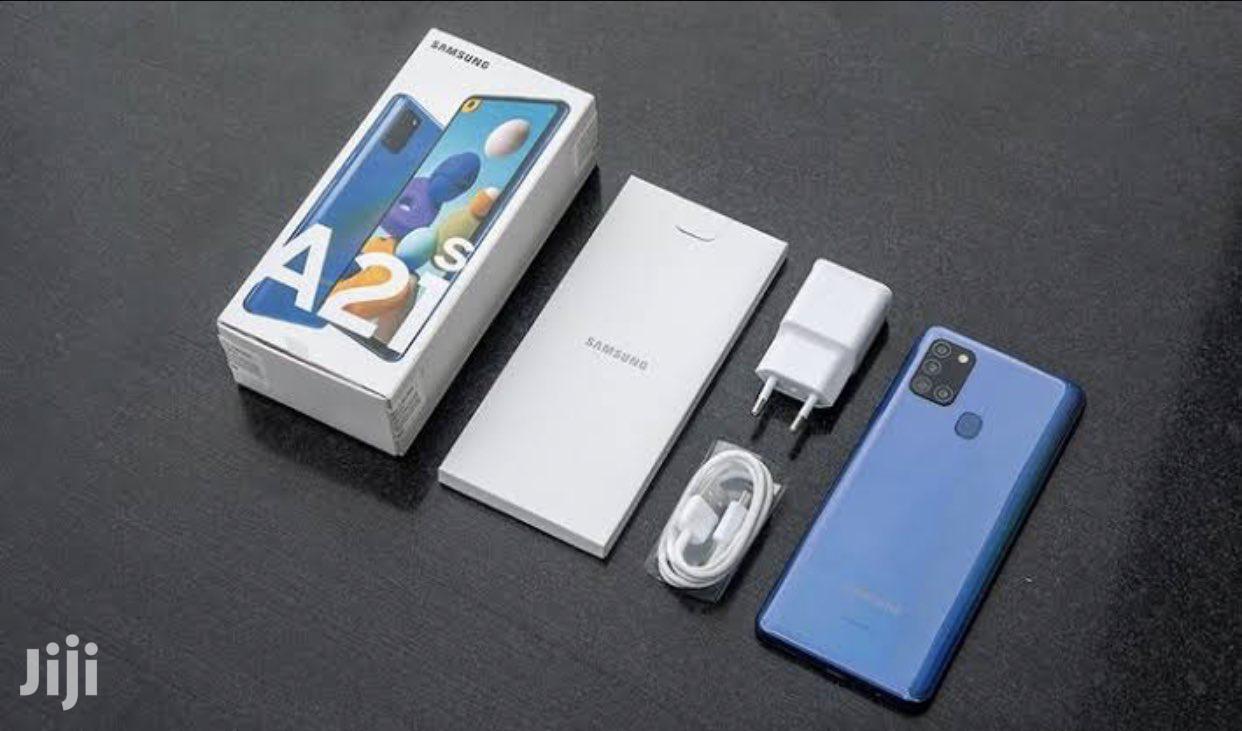 New Samsung Galaxy A21s 32 GB Blue