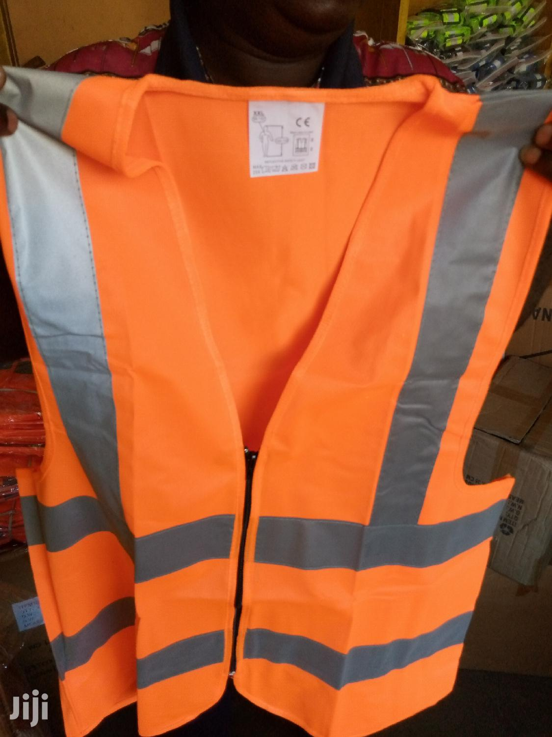 Reflective Vest ( Zip) | Safety Equipment for sale in Abossey Okai, Greater Accra, Ghana