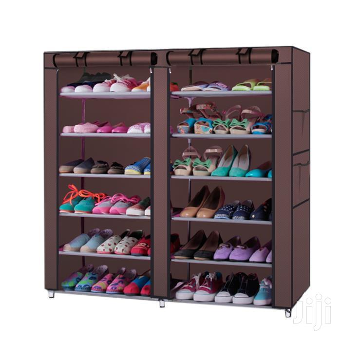 12 Tier Portable Shoe Rack | Furniture for sale in Accra Metropolitan, Greater Accra, Ghana